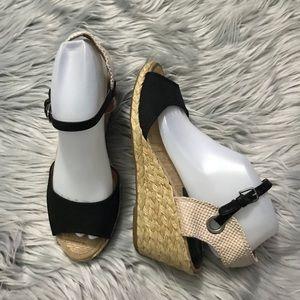 Lucky Brand Kyndra Espadrilles Wedge Sandal Heels